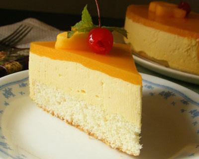 mango mousse cake recipe