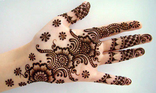 Beautiful Mehndi Designs for Eid 2012