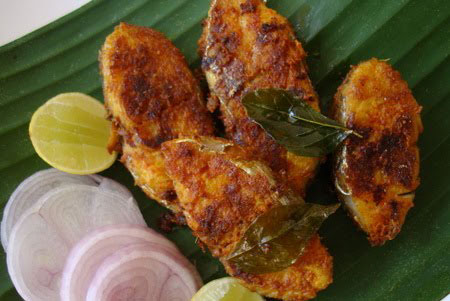 Lahori Tawa Fried Fish