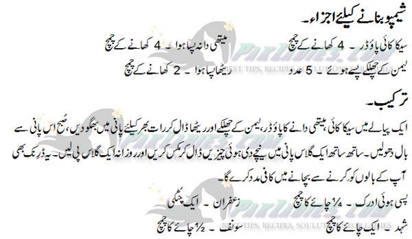 hair loss tips in urdu