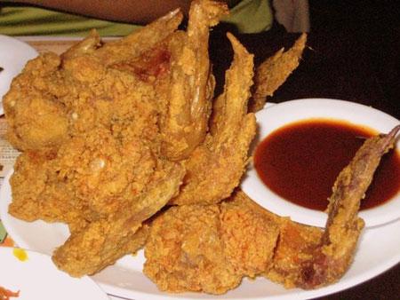 chicken wings broast