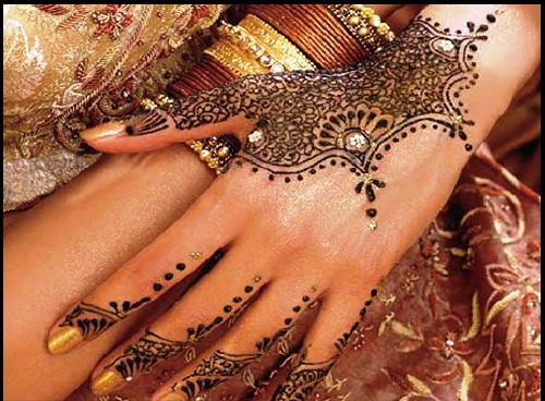 mehndi for hands