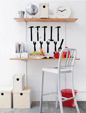 A workroom