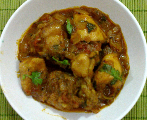 quick balti chicken