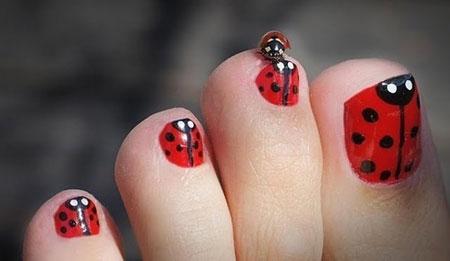 Cool Toe Nail Art Ideas