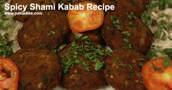 Spicy Shami Kabab Recipe
