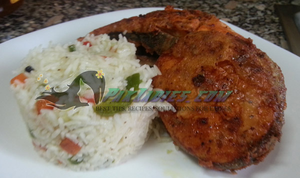 Tikka Masala Fried Fish in Urdu