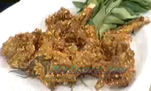 fried mutton kebab