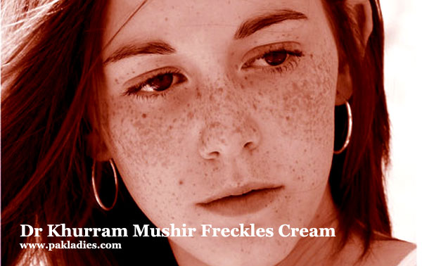 Dr Khurram Mushir Freckles Cream