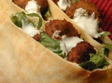 Easy Falafel Sandwich Recipe