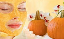 Glowing Skin Pumpkin Face Mask