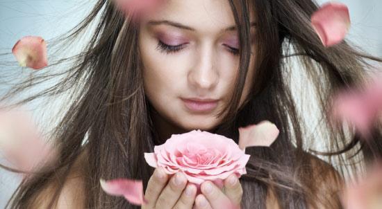 rose facial skin glow
