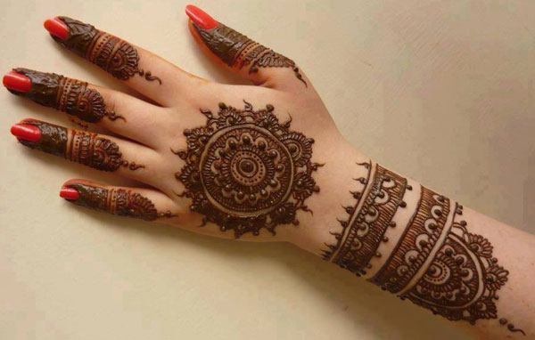 Latest Designs of Mehndi