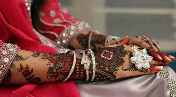 Latest Mehndi Designs for Bride