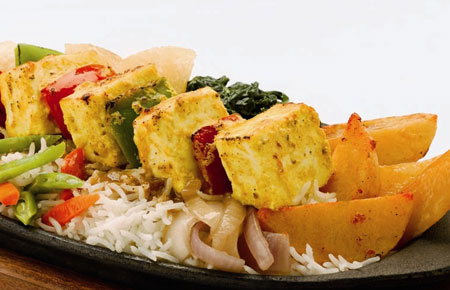 Cottage Cheese Shashlik