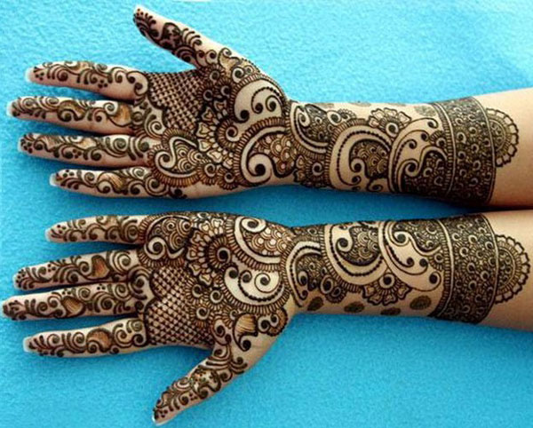 Eid Mehndi Design For Hand