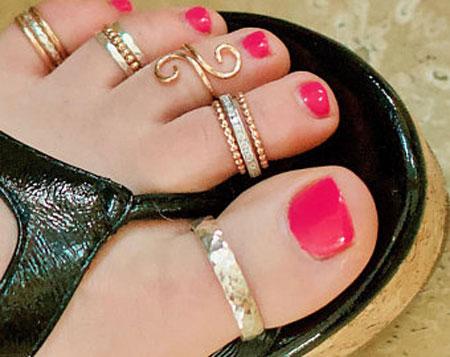 Unique Toe Rings
