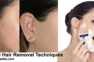 Facial Hair Removal Techniques