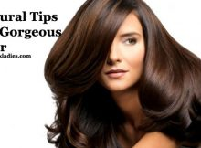 Natural Tips for Gorgeous Hair