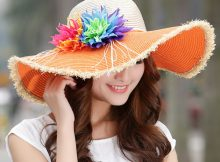 Straw Beach Hats Womens