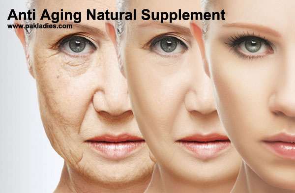 Anti Aging Natural Supplement