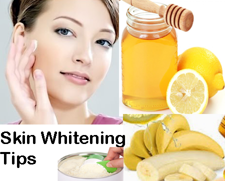 Natural Skin Whitening Tips