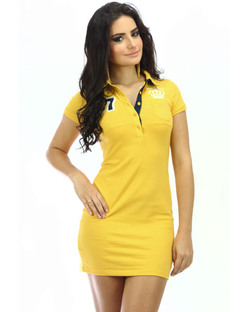 Women Polo Shirt Dresses