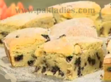 Chocolate Chips Squares Recipe