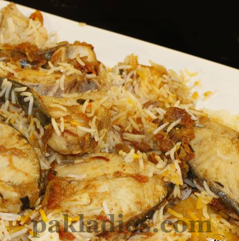 fish biryani recipe by shireen anwer
