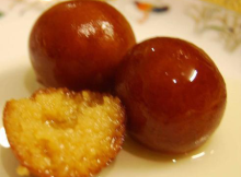 gulab jamun recipe with milk powder