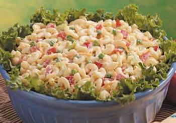 Easy Macaroni Salad Recip
