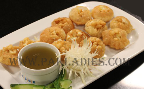 Gol Gappay Urdu Recipe