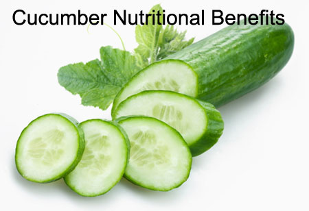 Cucumber Nutritional Benefits