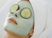 how to give facial treatment at home