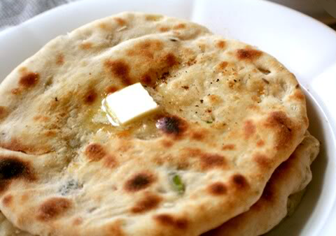 Keema Onion Kulcha Recipe