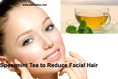 Reduce female facial hair