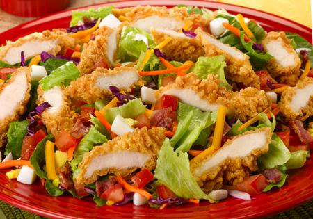 Fried Chicken Salad Recipe