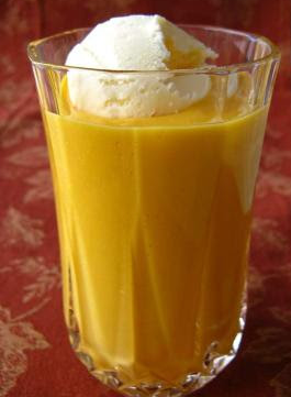 Mango Milkshake Recipe with Ice Cream