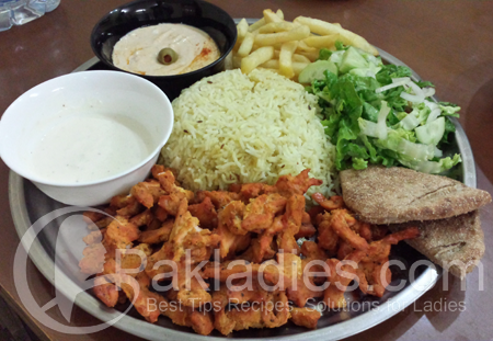Chicken Shawarma Platter Recipe