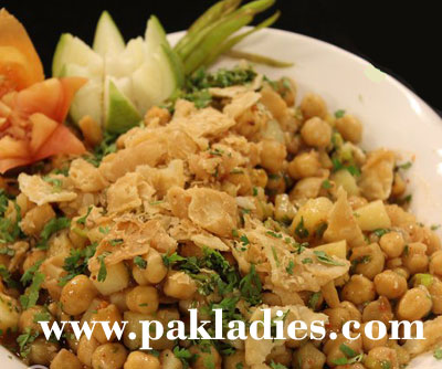lahori chana chaat by shireen anwer