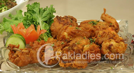 tandoori chicken pakora recipe