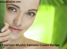 Dr Khurram Mushir Fairness Cream Recipe