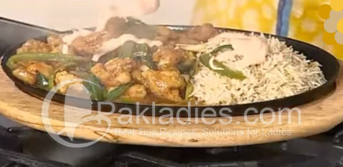 Chicken-Sizzler-with-Garlic