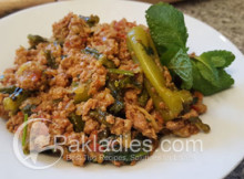 Caralluma Fimbriata and Mince Recipe