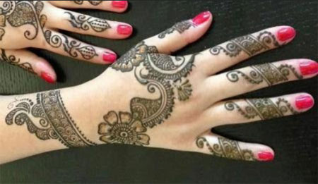 Unique Mehndi Designs 2015