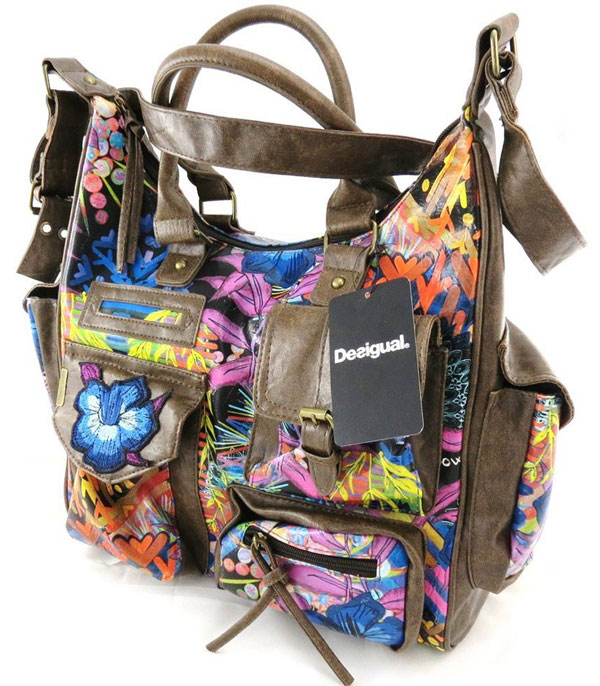 Colorful Desigual Hand Bags