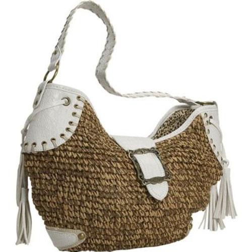 Crochet Paper Straw Handbag