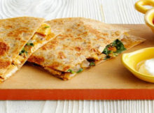 Easy Chicken Mushroom Quesadillas