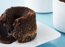 Molten Centered Chocolate Cake Anna Olson