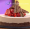 Strawberry Mousse Brownie Cake Recipe
